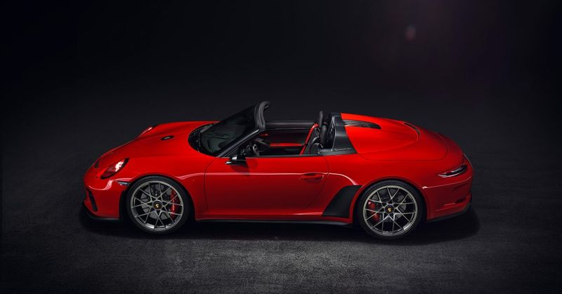 Porsche Will Wave Goodbye To The 991 With A Limited-Production GT3-Based Speedster