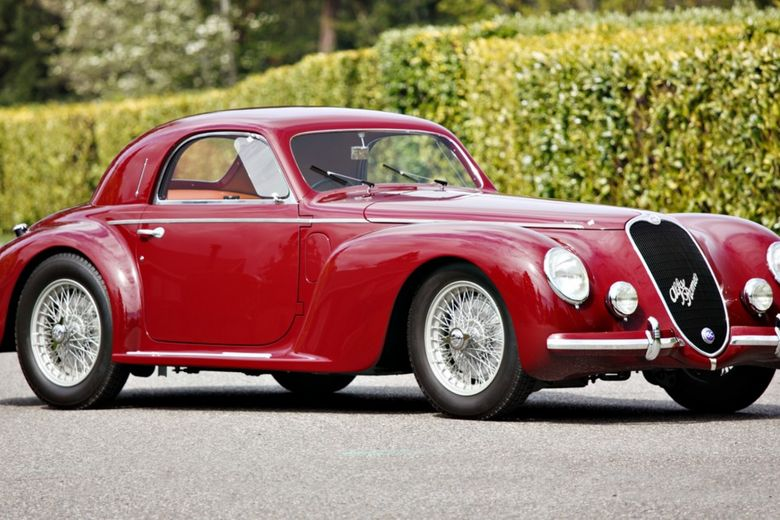 Rare And Award-Winning Alfa Racer-Turned-Berlinetta Heads To Auction At Pebble Beach