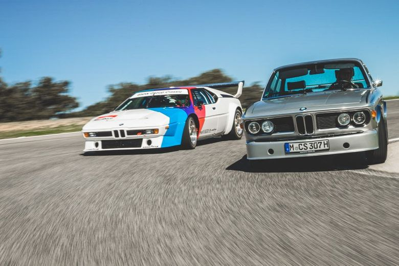 Reliving The Early Days Of BMW Motorsport With A 3.0 CSL Batmobile And An M1 ProCar Track Day