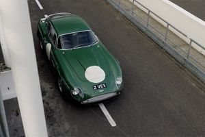 Reminiscing at Goodwood with '2 VEV', Jim Clark's DB4GT Zagato