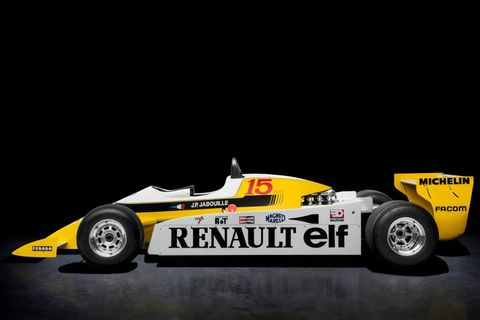 Renault Celebrates 40 Years Of Turbos With Special Display In Paris