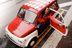 Restored Fiat 500 Giardiniera Is A Perfect Fit For Monaco