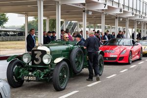 Ride with track legends at Goodwood charity day