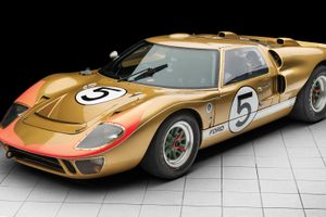 RM Sotheby's to offer legendary ex-Le Mans Ford GT40 in Monterey