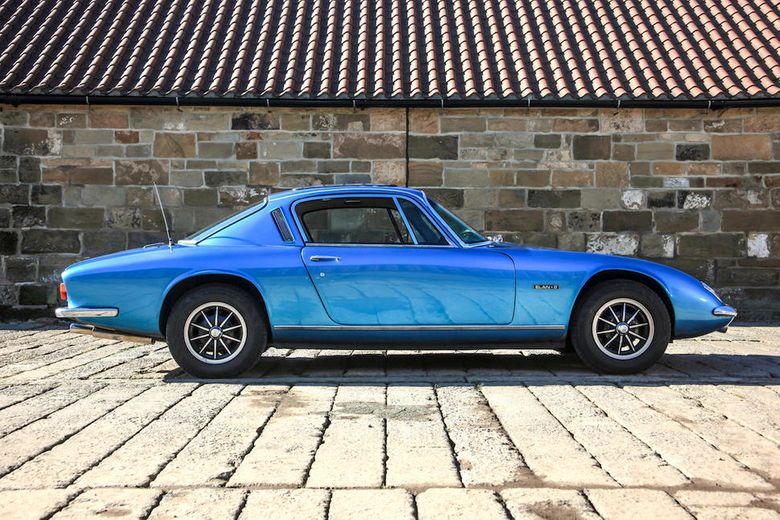 Ronnie Peterson Lotus Elan Plus S2 heads to auction