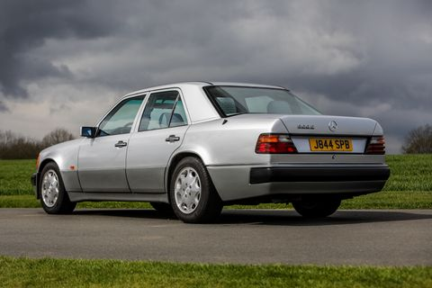 Rowan Atkinson To Sell His Rare Mercedes-Benz 500E For The Second Time