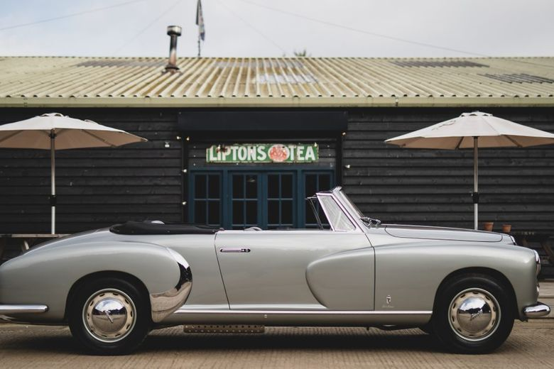 Saoutchik-Embellished Lancia Aurelia Cabriolet Conjures Dreams Of Italian Summertime All The Way In England