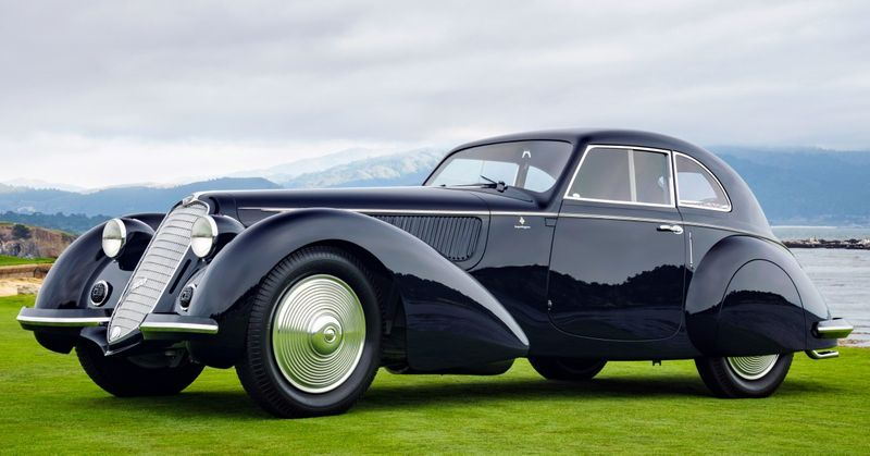 Say Hello To The Eight Best Concours Cars In The World