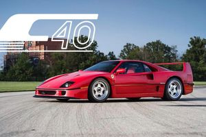1991 Ferrari F40: Driving The Dream Car
