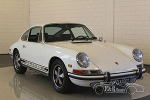 Porsche 911 L coupe Blanc 1968 Matching Numbers