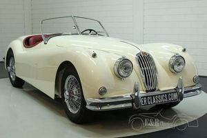Jaguar XK140 OTS Roadster 1954 restaurée