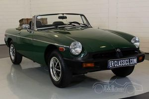MG B cabriolet 1978 Histoire speciale