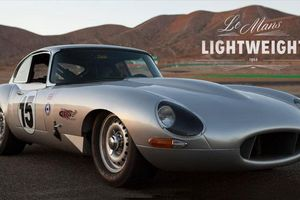 Jaguar E-Type Lightweight Recreated
