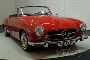 Mercedes-Benz 190SL cabriolet 1962 Signal Red