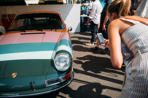 51 Photos Of Porsche's Birthday Party At The Goodwood Festival Of Speed
