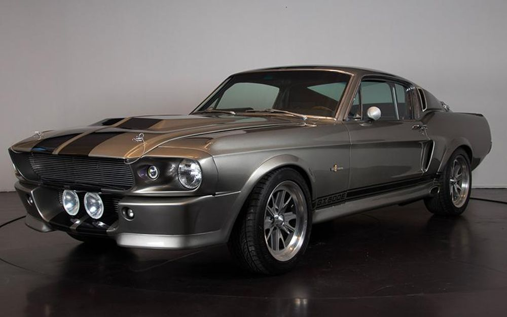 "1968 Ford Mustang Shelby GT500 ""ELEANOR"" - Voiture de ..."