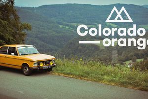 The Colorado Orange 1972 BMW 2002 Touring Is Perfect For The French Countryside