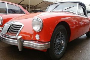 MG - A - Cab - Rouge - 1957
