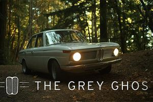 This BMW 1600 Neue Klasse Is A Grey Ghost