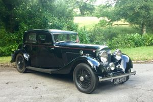 1934 Bentley 3½-Litre Sports Saloon