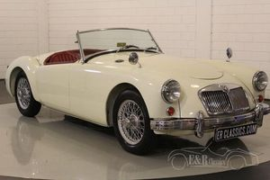 MGA cabriolet 1959 Old English White
