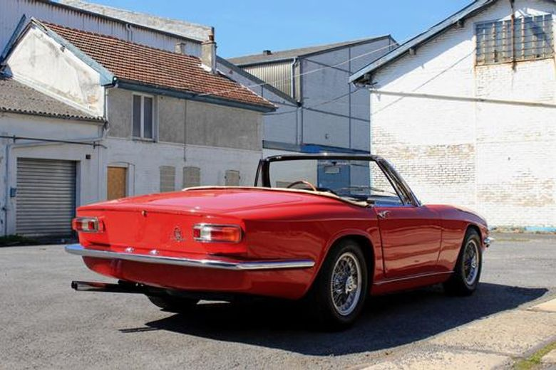 Maserati Mistral 3700 Convertible matching numbers - Vintage car for sale