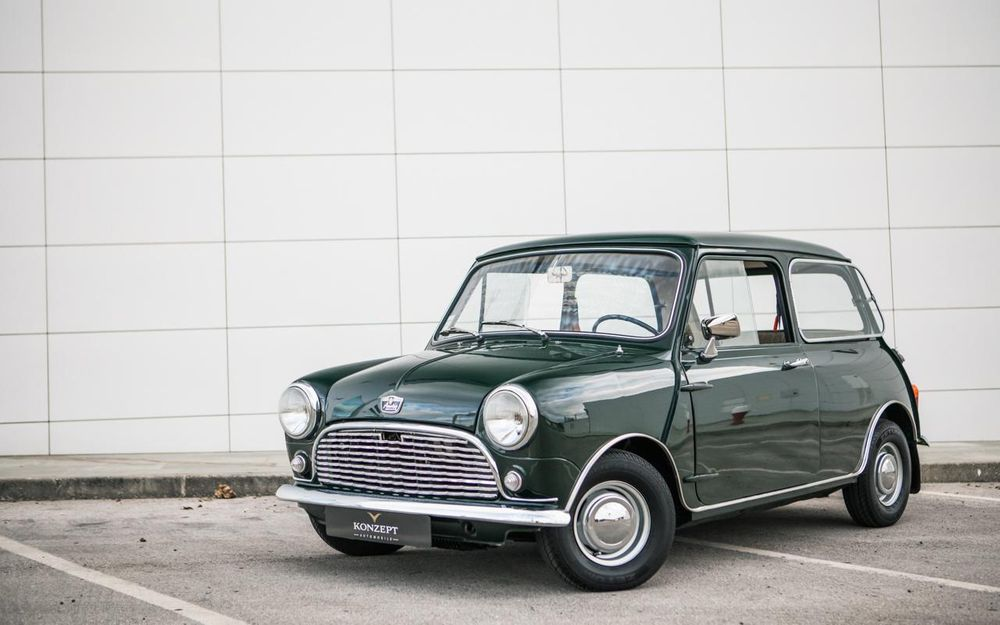 1965 austin mini voiture de collection vendre. Black Bedroom Furniture Sets. Home Design Ideas