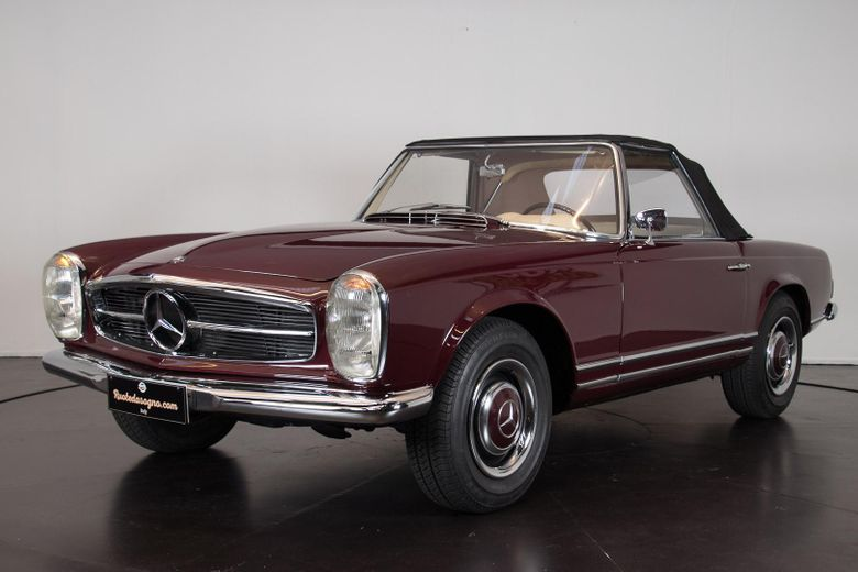 1963 mercedes benz 230 sl voiture de collection vendre. Black Bedroom Furniture Sets. Home Design Ideas