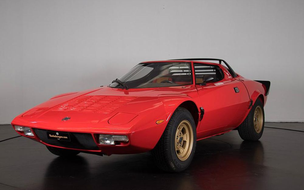 1976 lancia stratos stradale voiture de collection vendre. Black Bedroom Furniture Sets. Home Design Ideas
