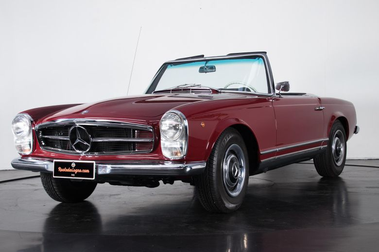 1964 mercedes benz 230 sl voiture de collection vendre. Black Bedroom Furniture Sets. Home Design Ideas