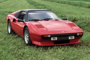 Ferrari 308 GTS, only 99 880 km, matching numbers