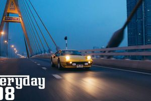 This Ferrari 308 GTB Traces The Streets Of Bangkok Daily