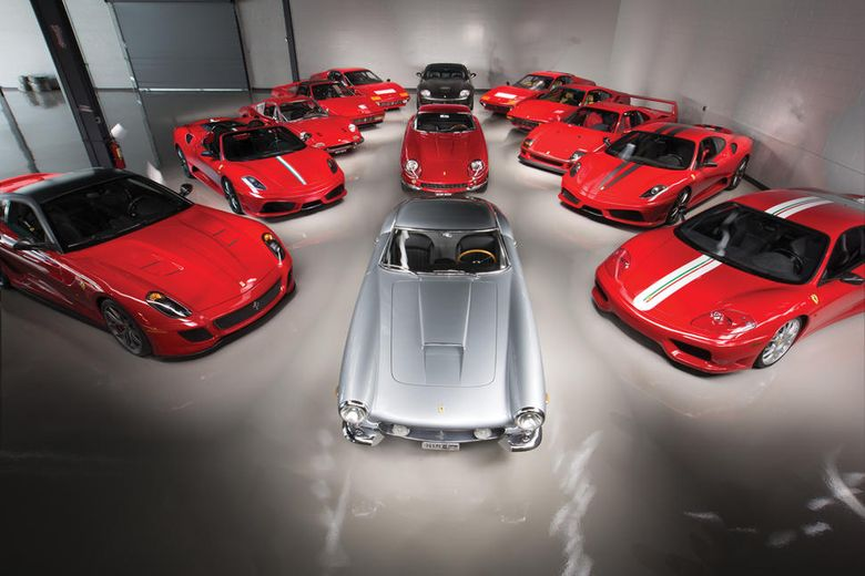 Single-owner 'Ferrari Performance Collection' joins RM Sotheby's Monterey auction