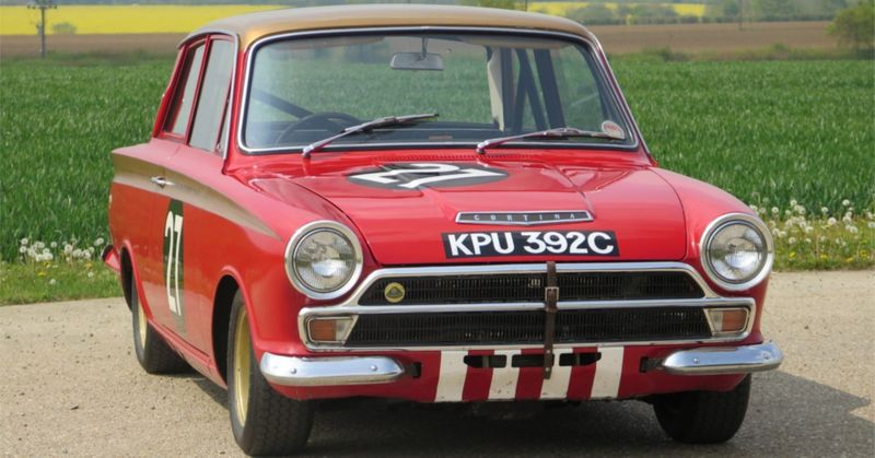 Sir John Whitmore's Championship-Winning Ford Lotus Cortina Heads To Auction At Silverstone Classic