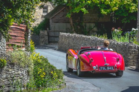 Smashing Through Stereotypes With An Outlaw-Style Jaguar XK140