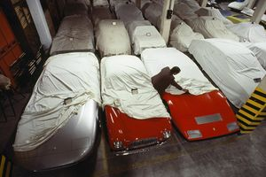 Snapshot, 1981: Even Pininfarina's show cars need their beauty sleep