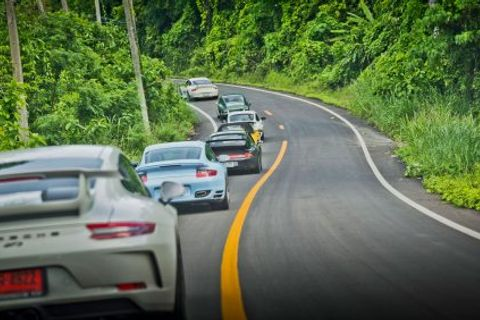 Soul Of Porsche Road Trip Celebrates Eight Generations Of The 911 Along Thailand's Most Picturesque Roads