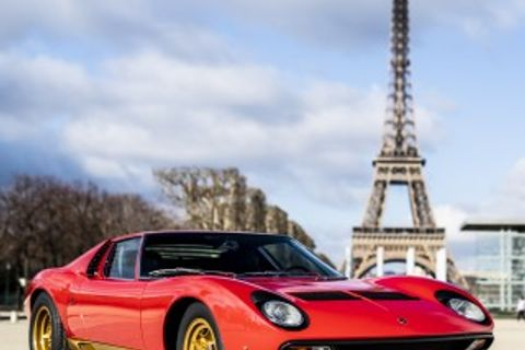 Special Lamborghini Miura Line-Up Promised For The London Concours