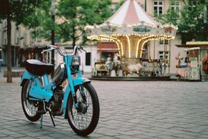 Spending A Life And A Summer On My Moped In Strasbourg