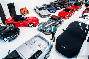 Step into the future of collector cars at this Dutch garage