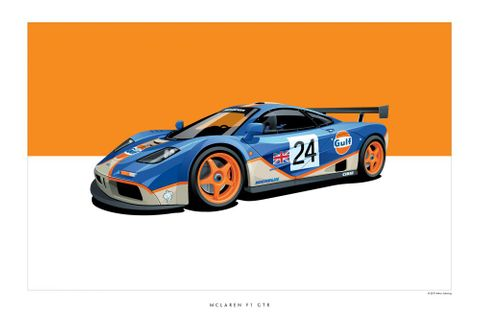 Surround Yourself With Historic Racing Cars With These Affordable Posters From ScheningCreative