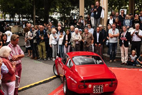 Swiss car culture at its very best at the Zurich Classic Car Award