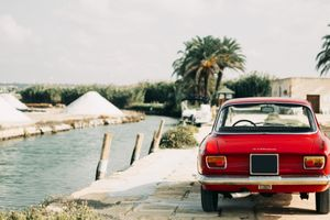 Tag Along On A Sicilian Treasure Hunt With A Step-Nose Alfa Romeo Giulia Sprint GT