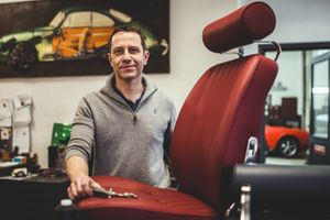 Take a seat with this Porsche-loving master saddler from Champagne