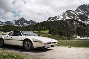 Taking A BMW M1 Out For An Alpine Hill Climb