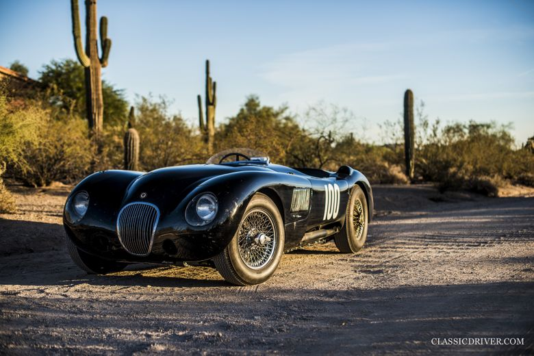Terry Larson's 30-year love affair with this storied Jaguar C-type