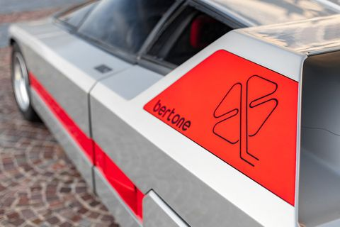 The Alfa Romeo Navajo was a wedge-shaped 1970s dreamcatcher