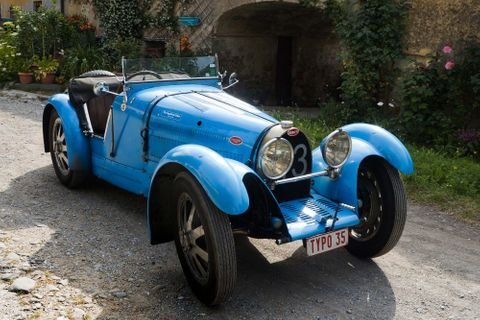 The Bugatti Type 35B Is A Sculpture That Happens To House A Supercharged Straight-Eight