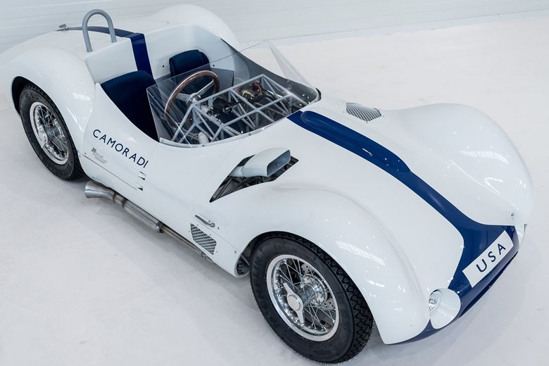 The coolest kid in the playground drives a Maserati Birdcage
