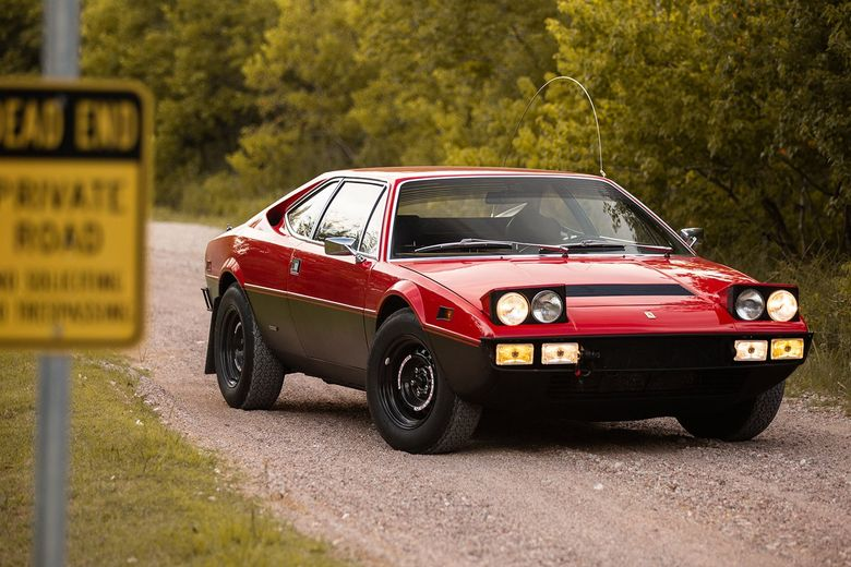 The dream safari begins with this heavy-duty Ferrari 308 GT4